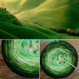 Magic Mix - Green Field 3-nitka 360g/1800m