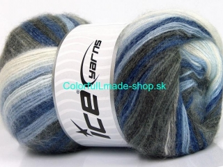 Mohair Magic Blue Shades, Grey Shades, White