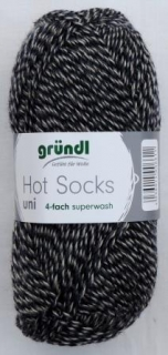 Hot Socks Uni 50 - Marine-grau mouline 770-27