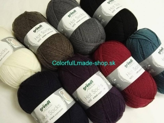 Hot Socks Uni 150 6-fach - Bordeaux 3466-07