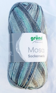 Mosca - Grey-turquoise multicolor 3507-04
