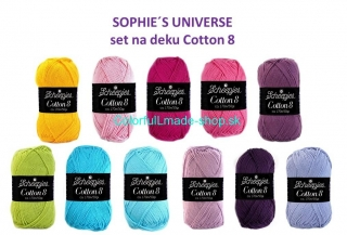 Sophies Universe - Cotton 8 set na deku