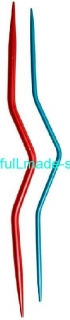 KnitPro Aluminium Cable Needles - sada 2ks
