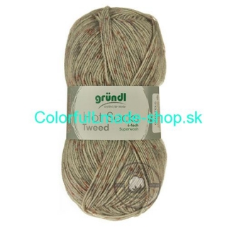 Hot Socks Tweed 6-fach - 3542-6-03
