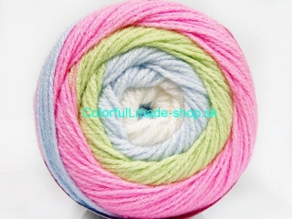 Cakes Baby White Pink Green Blue 51512