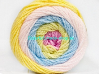 Cakes Baby Yellow Powder Pink Light Green Light Blue 51506