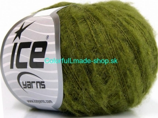 Kid Mohair Flamme Green