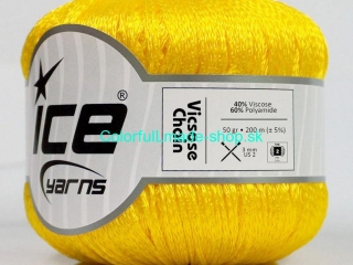 Viscose Chain Yellow