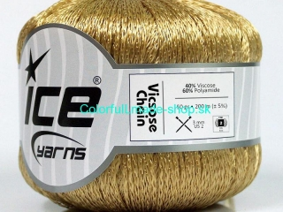 Viscose Chain Gold