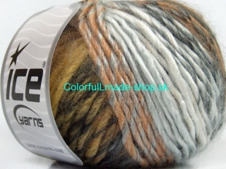 Vivid Wool Grey Shades Brown Shades 40664