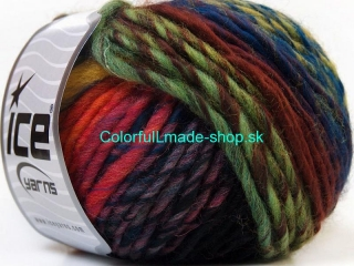 Vivid Wool Orange Green Shades Fuchsia Blue Black 34610