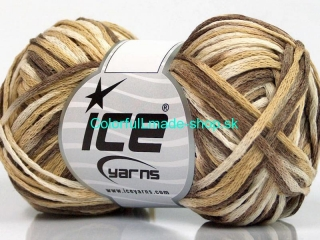 Fettuccia Cottonac Cream Brown Shades 51112