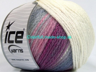 Air Wool Color Pink Lilac Cream Blue 54115