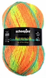 Hannah - Yellow-orange-turquoise shades 1608-27