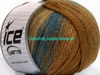 Air Wool Color Brown Shades Blue 54061