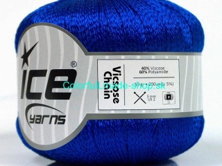 Viscose Chain Royal Blue