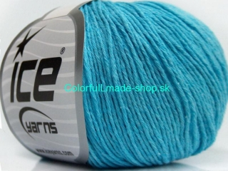 Natural Cotton Baby Light Blue