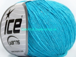 Natural Cotton Baby Turquoise