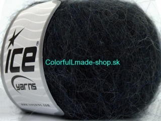 Kid Mohair Classic Anthracite Black