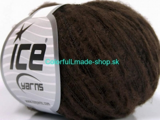 Kid Mohair Flamme Dark Brown