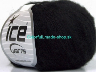 Kid Mohair Flamme Black