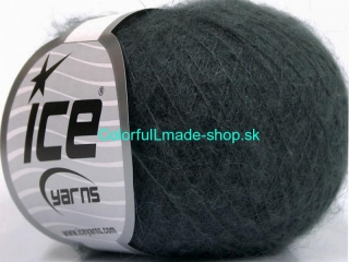 Kid Mohair Fine Dark Grey