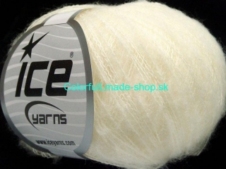 Kid Mohair Flamme Off White
