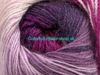 Mohair Magic Glitz Purple Lilac Lavender Fuchsia 50325