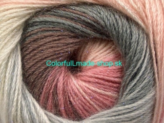 Mohair Magic Glitz White Pink Shades Grey Shades Brown 50323