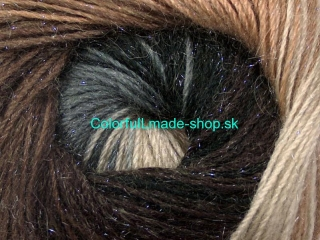 Mohair Magic Glitz Grey Shades Brown Shades 50315