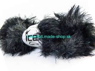 Smooth Fur Grey Black 30836