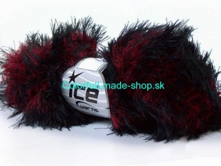 Smooth Fur Red Black 30841